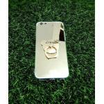 TPU โครเมี่ยมพร้อมแหวน iphone6/6s สีทอง