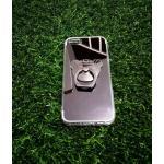 TPU โครเมี่ยมพร้อมแหวน iphone5/5s/se สีดำ