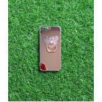 TPU โครเมี่ยมพร้อมแหวน(NEW) iphone5/5s/se สีชมพู
