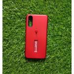 2ชั้นกันกระแทกมีที่คล้องนิ้ว Huawei P20 สีแดง
