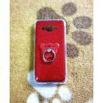 TPU กากเพชร (มีเเหวนตั้งได้) Grand prime/J2 Prime(ใช้เคสตัวเดียวกัน) สีแดง