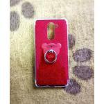TPU กากเพชร (มีเเหวนตั้งได้) Huawei GR5(2017)(6X) สีแดง