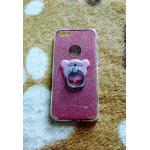 TPU กากเพชร (มีเเหวนตั้งได้) iphone7/iphone8(ใช้เคสตัวเดียวกัน) สีชมพู
