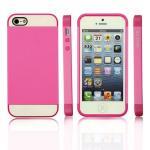 NX Case iphone5/5s สีชมพูเข้ม