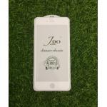 ฟิล์มกระจกเต็มจอ JDO iphone6 plus/6s plus สีขาว