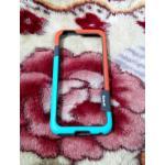 ฺBumper Walnutt iphone6/6s เขียว-ส้ม
