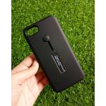 2ชั้นกันกระแทกมีที่คล้องนิ้ว iphone7/iphone8(ใช้เคสตัวเดียวกัน) สีดำ