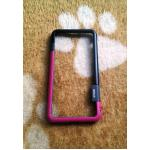 Bumper Walnutt iphone7 plus/iphone8 plus(ใช้เคสตัวเดียวกัน) สีชมพู-ดำ