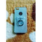 TPU กากเพชร (มีเเหวนตั้งได้) iphone6/6s สีเงิน