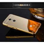 BP.อลูมิเนียมหลังสไลด์ Mirror Xiaomi Redmi Note4 สีทอง