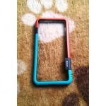 Bumper Walnutt iphone7 plus/iphone8 plus(ใช้เคสตัวเดียวกัน) สีเขียว-ส้ม