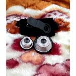 คลิปเลนส์กล้อง 3in1 สีเงิน