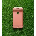 เคสประกบ 360 องศา(New) iphone7 plus/iphone8 plus(ใช้เคสตัวเดียวกัน) สี Pink gold