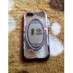 TPU Princess(มีกระจก) iphone5/5s/se สีดำ
