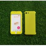 PC ประกบ360องศา+ฟิล์มกระจกสีเหลือง iphone7/iphone8(ใช้เคสตัวเดียวกัน)