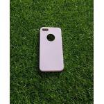 TPU สีทึบ 0.18 บางเฉียบ iphone5/5s สีม่วง