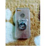 TPU กากเพชร (มีเเหวนตั้งได้) iphone6/6s สีทอง