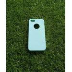 TPU สีทึบ 0.18 บางเฉียบ iphone5/5s สีฟ้า
