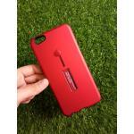 2ชั้นกันกระแทกมีที่คล้องนิ้ว Oppo R9S สีแดง