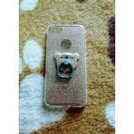 TPU กากเพชร (มีเเหวนตั้งได้) iphone7/iphone8(ใช้เคสตัวเดียวกัน) สีทอง