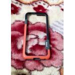 ฺBumper Walnutt iphone6/6s ส้ม-ดำ