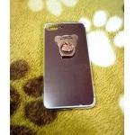 TPU โครเมี่ยมพร้อมแหวน iphone7 plus/iphone8 plus(ใช้เคสตัวเดียวกัน) สีชมพู