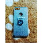 TPU กากเพชร (มีเเหวนตั้งได้) iphone7 plus/iphone8 plus(ใช้เคสตัวเดียวกัน) สีเงิน