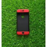 เคสประกบ 360 องศา(New) iphone7/iphone8(ใช้เคสตัวเดียวกัน) สีดำ-แดง