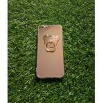 TPU โครเมี่ยมพร้อมแหวน(NEW) iphone6/6s สีทอง