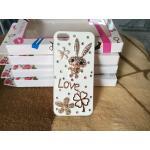 เพชร LOVE iphone6/6s ลายกระต่าย