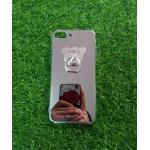 TPU โครเมี่ยมพร้อมแหวน(NEW) iphone7/iphone8(ใช้เคสตัวเดียวกัน) สีเงิน