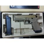 New.WE Glock17 T3 สไลด์ทราย เฟรมทราย ท่อดำ ราคาพิเศษ