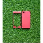 TPU ประกบหน้าหลังกันกระแทก iphone7/iphone8(ใช้เคสตัวเดียวกัน) สีแดง