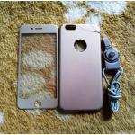 PC พร้อมกระจกสี(มีสายห้อยคอ) iphone6/6s สีทอง