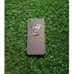 TPU โครเมี่ยมพร้อมแหวน (NEW) iphone6/6s สีเงิน