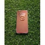 TPU โครเมี่ยมพร้อมแหวน(NEW) iphone6/6s สีชมพู