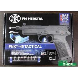 New.Cybergun FNX 45 Tactical GBB Pistol (Black) ราคาพิเศษ