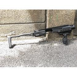 New.ชุดแต่ง KPOS GLOCK 17, 18, 19, 22, 23, 25, 31, 32, 37, 38 gen 3 and gen 4 pistols - ใช้งาน กับ ปืนจริง - วัสดุอะลูมีเนียม CNC แข็งแรง - พานท้ายก้านเหล็ก พับเก็บได้ - คันรั้งสไตล์ M4 / M16 / AR - มาพร้อม กริ๊ปมือ FGGK พับและปิดโกร่งไกปืนได้ ราคาพิเศษ 6
