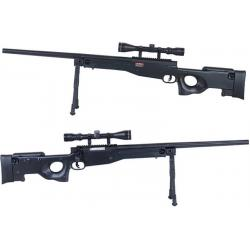 New.E&C L96 Sniper รุ่นอัพเกรด (EC501DS JR Custom) มาพร้อมกล้องซูม 3-9เท่าหน้าเลนส์ใหญ่40mm และขาทรายแบบพับเก็บและยืดหดได้