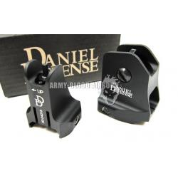 DD Fixed Front and Rear Sight Set