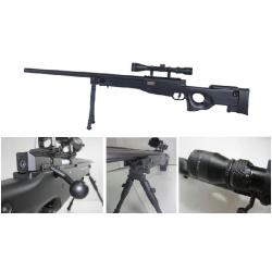 New.E&C L96 Sniper รุ่นอัพเกรด (EC501DS JR Custom) มาพร้อมกล้องซูม 3-9เท่าหน้าเลนส์ใหญ่40mm และขาทรายแบบพับเก็บและยืดหดได้ ราคาพิเศษ