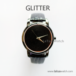 นาฬิกาข้อมือ รุ่น GLITTER สีดำ