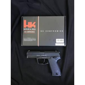 New !!! Umarex / VFC USP Gas Pistol Product Brand: Umarex Product Code: SA3-USP-BK01 Hop-Up: ADJUSTABLE Weight: 816 g Length: 196 mm Capacity: 22 rds Power: 340 fps Power Source: Green Gas / Top Gas Blowback: YES Shooting Mode: Semi Auto