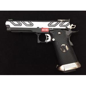 New.Armorer Works HX2302 Hi-Capa 5.1 GBB Pistol (2-Tone) [AW-GBB-HX2301-2T] เป็นปืน Custom มาจากโรงงาน ความแรง แรงมาก ราคาพิเศษ