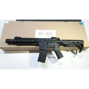New.E&C 311 ปืนยาวไฟฟ้า (ตระกูลM4) JR Custom Gen.2 เวอร์ชั่น JR Custom เจนทูหรือเจนสองคือ ปืนที่ทำการอัพเกรดอุปกรณ์ภายในมาจากโรงงาน อุปกรณ์ที่ทางโรงงานอัพเกรดมาได้แก่ -ลูกสูบฟันเหล็กจากโรงงาน เหนียว ทน -บูทแบริ่ง8มม อย่างดี จากโรงงาน ทน แน่นอ ราคาพิเศษ