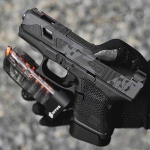 https://youtu.be/VsWr5B01xGQ New.ส้นแม็ก+2 Glock 26 / Glock 43 ยี่ห้อ HYVE มี3สี ราคาพิเศษ