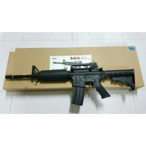 New.E&C M4A1 ปืนยาวไฟฟ้า (ตระกูลM4) JR Custom Gen.2 เวอร์ชั่น JR Custom เจนทูหรือเจนสองคือ ปืนที่ทำการอัพเกรดอุปกรณ์ภายในมาจากโรงงาน อุปกรณ์ที่ทางโรงงานอัพเกรดมาได้แก่ -ลูกสูบฟันเหล็กจากโรงงาน เหนียว ทน -บูทแบริ่ง8มม อย่างดี จากโรงงาน ทน แน่นอ ราคาพิเศษ