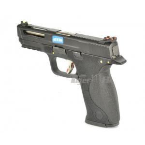 S&W M&P9 T2 B-Style สไลด์ดำ ท่อเงิน เฟรมดำ