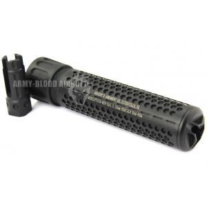 Knight's Armament QDC Barrel Extension KAC 556 QDC CQB Airsoft Dummy Quick Detach Suppressor (Carbine Length,BK)prev next