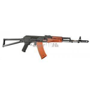 AK74S เหล็กจริง ไม้จริง มี BlowBack Jing Gong 1010